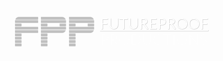 FUTUREPROOF PRODUCTIONS Logo